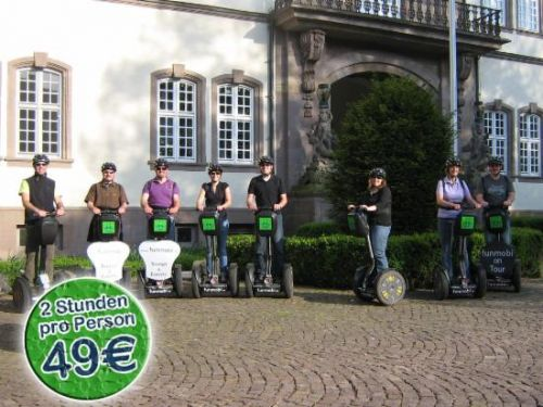 Impression einer Segway-Tour in Rotenburg
